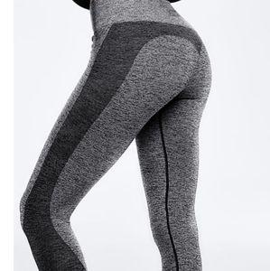 NWOT PINK seamless leggings Victoria's Secret XS